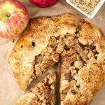 Apple Walnut Crostata