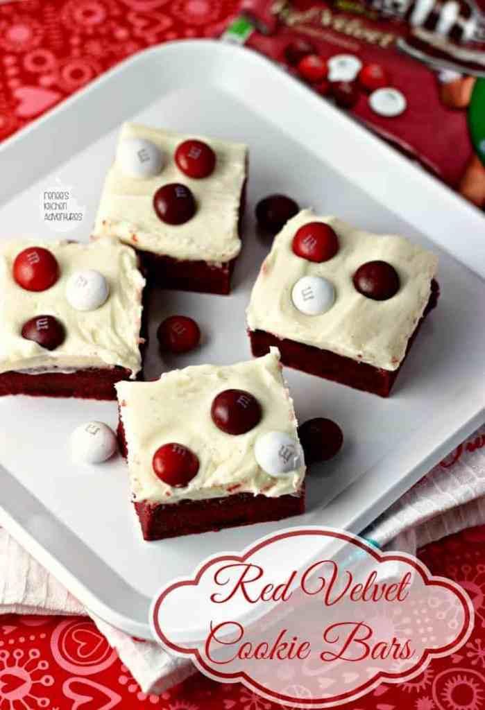 Red velvet cookie bars hero 3