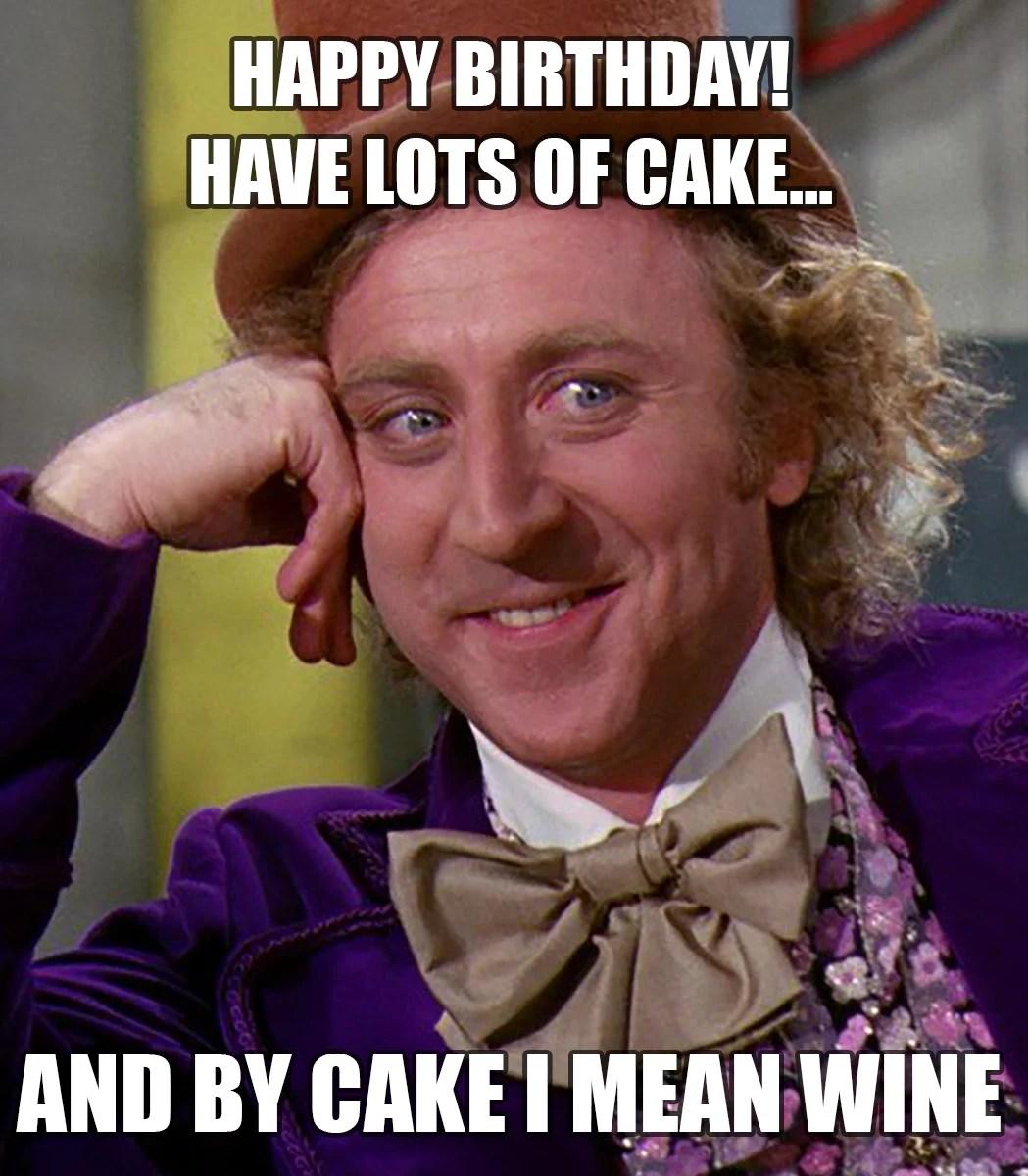 Fullsize Of Happy Birthday Girl Meme
