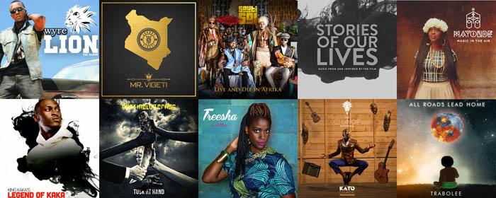 Best Kenyan Albums of 2015