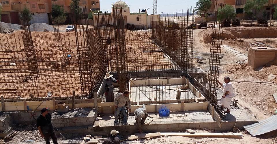 مسجد الخلفاء الراشدين الكائن بطريق الجزائر ينتظر دعمكم
