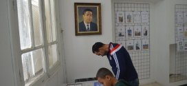 افتتاح الصالون المحلي الأول للطابع البريدي بمنزل المرحوم عيسى