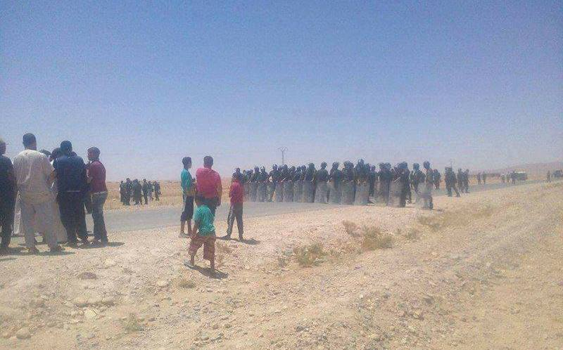 احتجاجات في بلدية سيدي محمد بدائرة عين الملح
