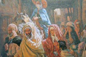 لوحة زيتية اشتهرت باسم ( السجناء) للفنان ألفوس اتيان دينيه (ناصر الدين دينيه)