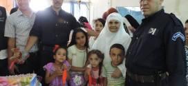 امن دائرة بوسعادة يقوم بزيارة الى مستشفى رزيق البشير ببوسعادة في عيد الاضحى المبارك
