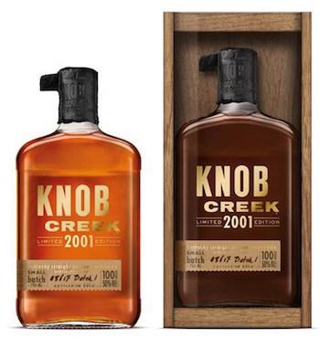 New: Knob Creek 2001 Bourbon