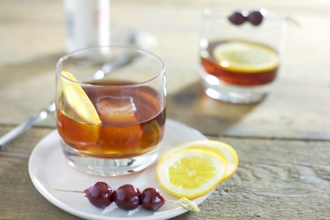 Rob Roy Cocktail : A classic cocktail made with Scotch whiskey ...