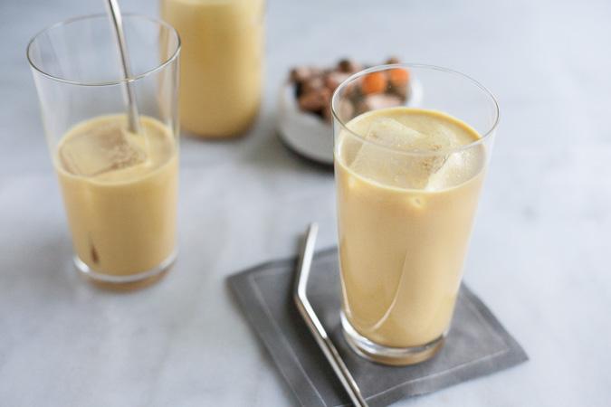 Golden Milk Turmeric Iced Latte