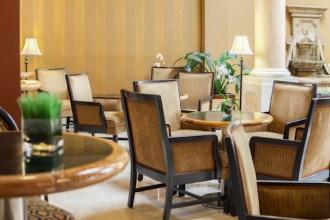 Lounge Area - Regency Hotel