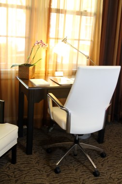 Interior of a Typical Artmore Hotel Room