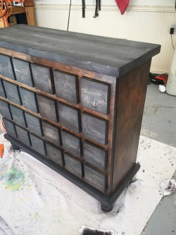 Soulful Faux Card Catalog Cabinet Makeover Bower Power Faux Card Catalog Cabinet Bower Power Card Catalog Cabinet Definition Card Catalog Cabinet Craigslist