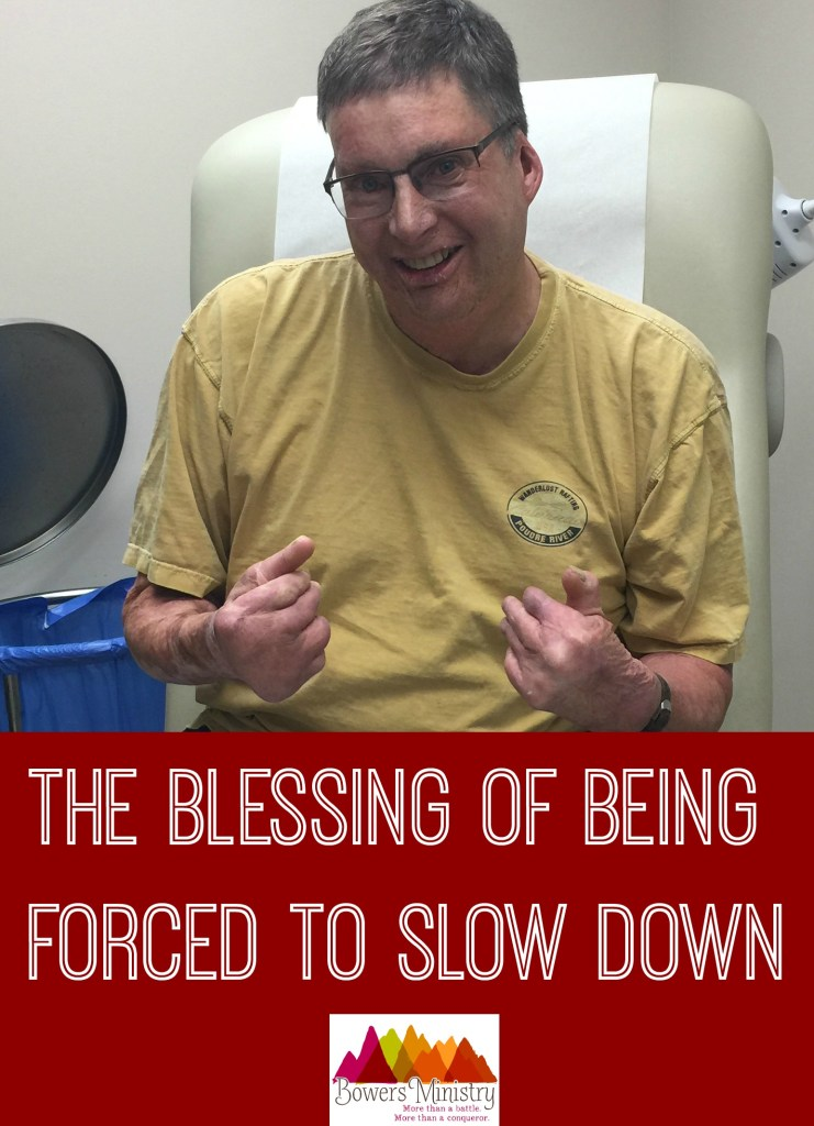 The Blessing of Being Forced to Slow Down