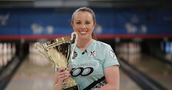 Josie Earnest climbs ladder to win PWBA Rochester Open