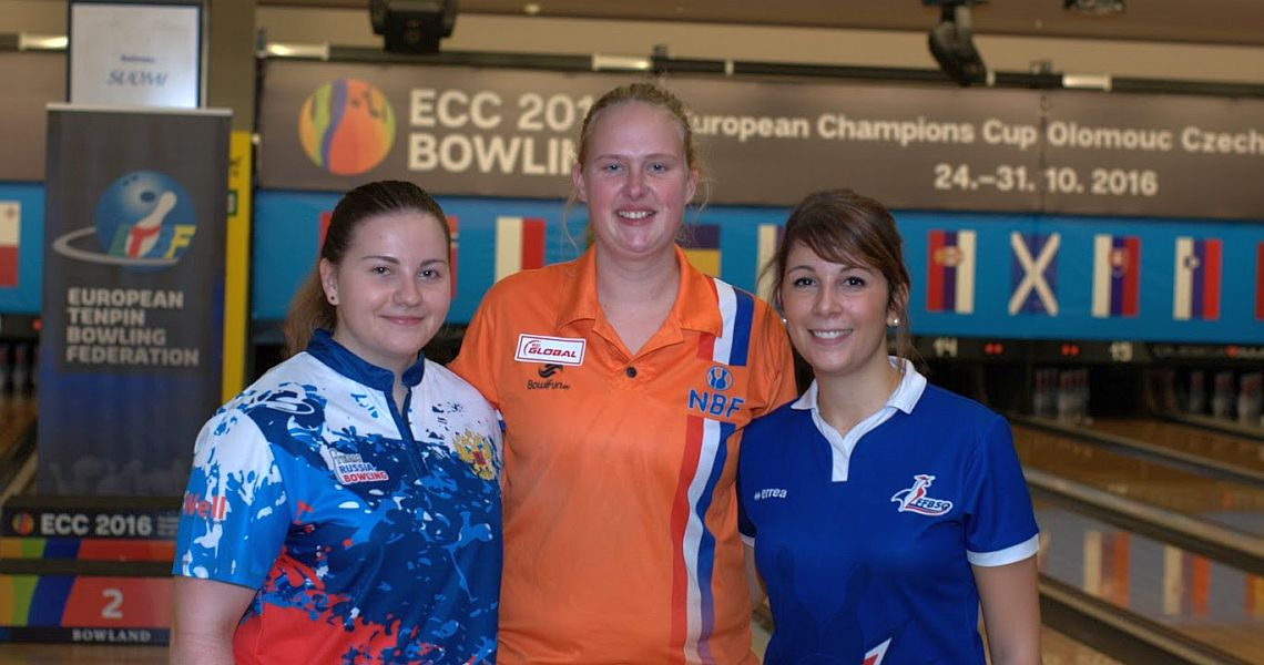 Nicole Sanders sets the pace in women's qualifying at European Champions Cup