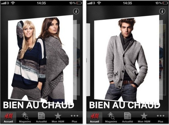 app h&m iphone