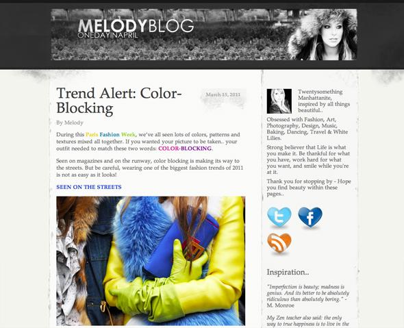 melodyblog