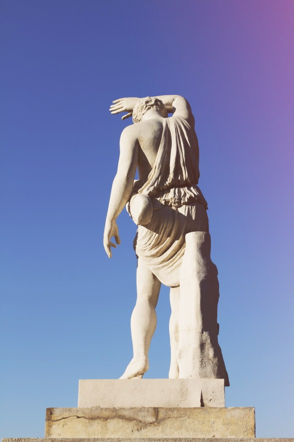 montjuic statue_effected