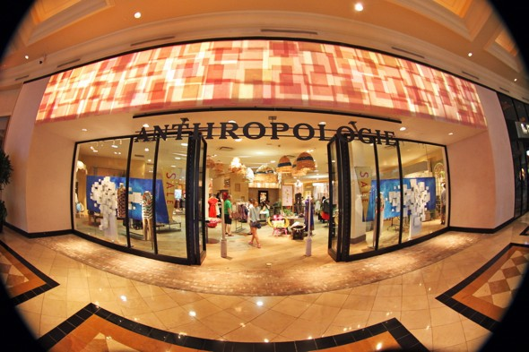 las vegas caesars palace anthropologie clothing shop_effected
