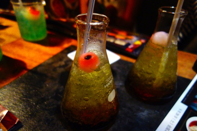 lockup_restaurant_drink_eyeball_oeil_tokyo_ueno_prison_fun_foodie_experience_japan_japon