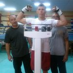 9 oct 2013 Rocky Martinez training and pre weigh in for Mikey Garcia