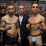 Cyclone Promotions present Carl Frampton Weigh in at The Europa Hotel, Belfast before his IBF Super Bantamweight World Title Eliminator fight against Jeremy Parodi at The Odyssey Arena.