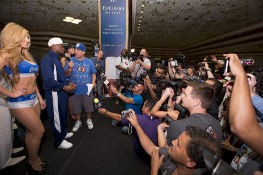 photo: floyd mayweather jr boxing