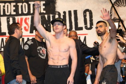 photo: saul alvarez alfredo angulo