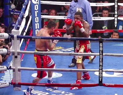 photo: marcos rene maidana adrien broner
