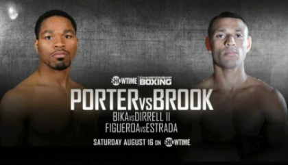 Brook Porter Brook vs. Porter  kell brook