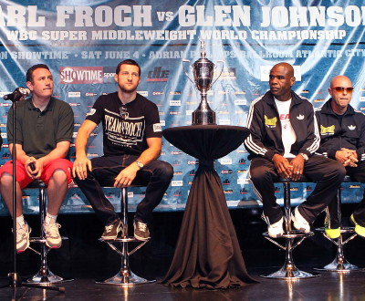 Froch Johnson Froch vs. Johnson  glen johnson carl froch
