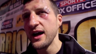 photo: george groves carl froch