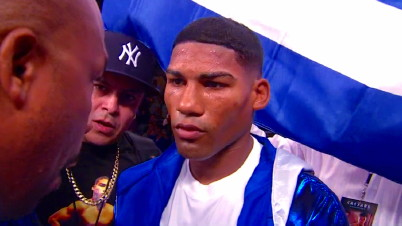 photo: yuriorkis gamboa floyd mayweather jr