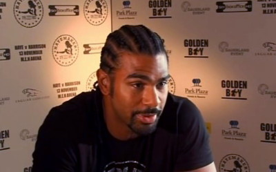 Haye Harrison  david haye audley harrison
