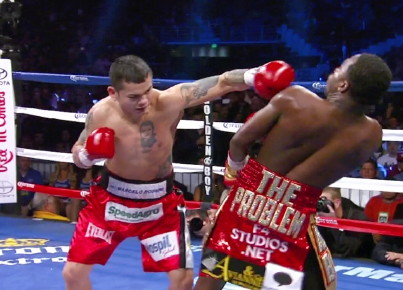 photo: marcos rene maidana floyd mayweather jr
