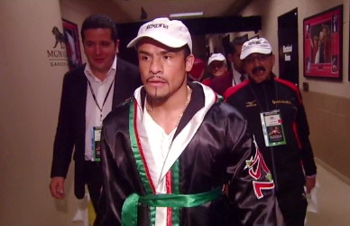 photo: juan manuel marquez boxing