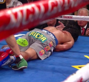 photo: manny pacquiao floyd mayweather jr boxing
