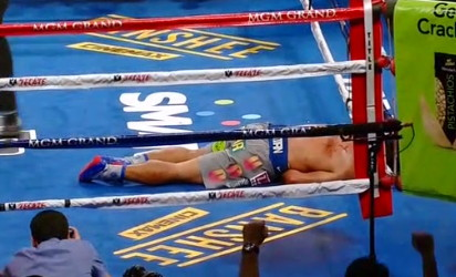 photo: ricky hatton manny pacquiao juan manuel marquez