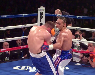 photo: keith thurman boxing