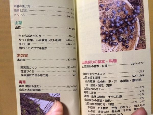 山菜・木の実図鑑目次