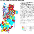 奈良県里山のイノシシマップ