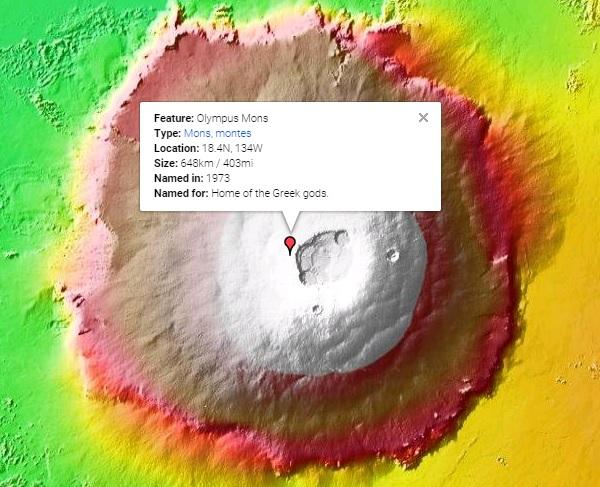 オリンポス山(火星)
