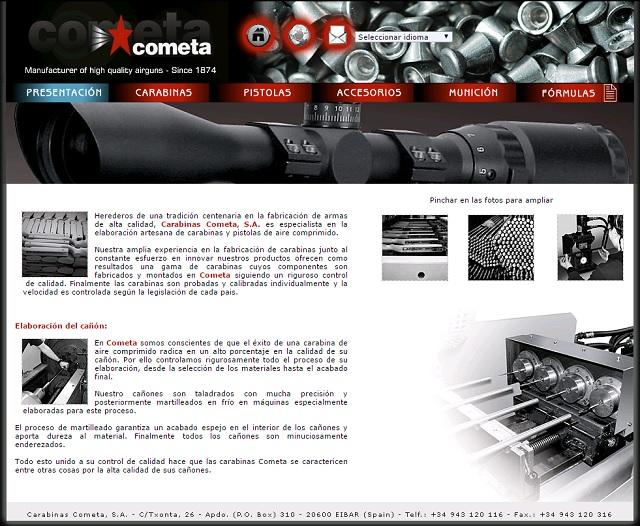 コメタ社ウェブサイト