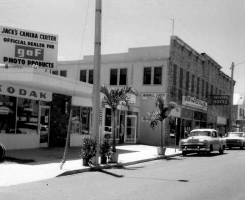 East Ocean Avenue in the 1950s