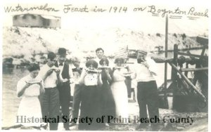 Image courtesy Historical Society of Palm Beach County archive.