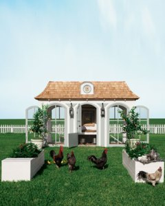 Neiman Marcus 2012 Fantasy Christmas Catalog Mini-Hen Farm