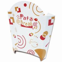 BP Linea Fast Food astuccio porta patatine pata break
