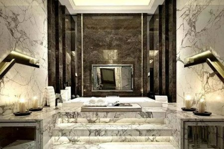 the marble bathroom a unique home d%c3%a9cor material 3