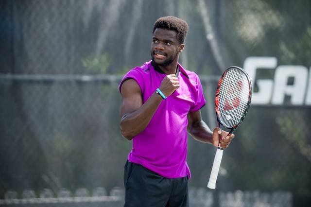 frances tiafoe had plenty to be excited about sunday as he defeated fellow american tennys sandgren
