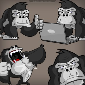 Ape-Gorilla-Character-Designs-Video-Game