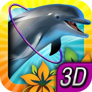 Dolphin-Paradise-Game-App-Icon-Design-01